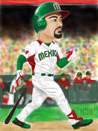 Adrian Gonzalez, Team Mexico by Taliaspadre on DeviantArt