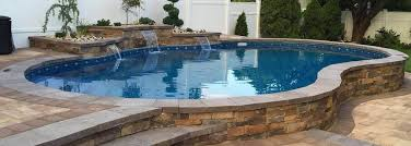 Semi Inground Pools Manhattan Pool Builder Wamego Pool Construction