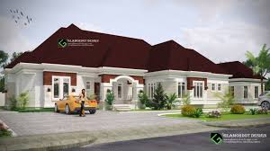 4 bedroom bungalow house design in nigeria