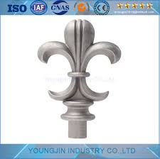 China Cast Aluminum Spears Casting Metal Fence Finials Tip Die Casting Spear Points For Fencing Gate China Aluminum Spear Fence Decorative