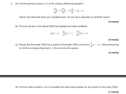 find the general solution y t