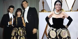 Rita Moreno Rewore Her 1962 Oscars Gown at 2018 Oscars - Rita Moreno Dress  2018 Oscars