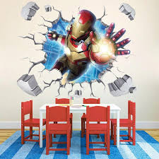 Marvel 3d Iron Man Wall Decals The Treasure Thrift