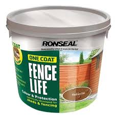 Ronseal Fencelife Medium Oak 12lt Tfm Farm Country Superstore