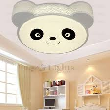 Flush Mount Cute Animal Shape Kids Room Led Ceiling Lights