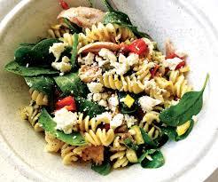 Chicken and feta pasta salad - Healthy ...