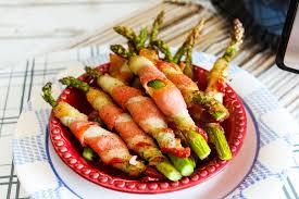 crispy bacon wrapped asparagus 4