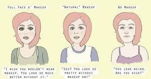 beauty meme responses to makeup shaming