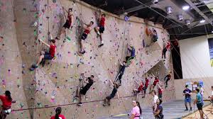 are lazy rivers and climbing walls