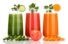 vegetable or vegetable juice which is