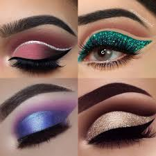 subtle pink cut crease eye makeup look