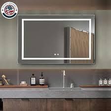 backlit mirror vanity lighted mirror