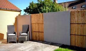26 Bamboo Fencing Ideas For Garden Patio Or Balcony