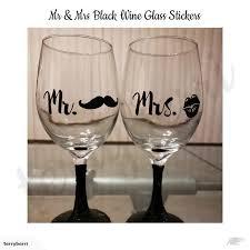 wedding party decorations mr mrs wine
