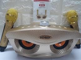 Loa Bluetooth karaoke kèm 2 mic SDRD-306 - SDRD-306 - P182698 ...
