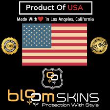 Bloom Skins Luxury Gold Honeycomb Protective 3m Vinyl Skin Decal Wrap