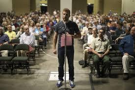 Foes of Twin Metals mine jam St. Paul listening session; advocates stay  away   Star Tribune