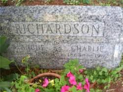 "Charles Jay ""Charlie"" Richardson (1868-1962) - Find A Grave Memorial"