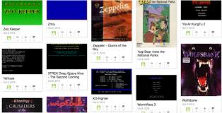 Thousands of old DOS games added to Internet Archive database
