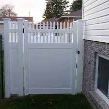 Weatherables Tremont 3 7 Ft W X 6 Ft H White Vinyl Privacy Fence Gate Kit Swpr Ot 6x44 5 The Home Depot In 2020 Vinyl Privacy Fence White Vinyl Fence Classic Fence