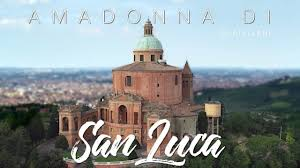 Sanctuary of the Madonna di San Luca in Bologna Italy - Drone Video -  YouTube