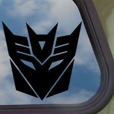 Amazon Com Decepticons Transformers Black Decal Truck Window Sticker Home Kitchen Truck Window Stickers Transformers Cars Bumper Stickers