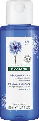 klorane eye makeup remover lotion