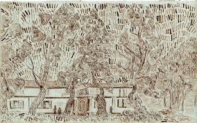 sketchbook attributed to van gogh pits