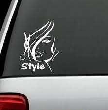 A1003 Hair Stylist Hairdresser Hairstylist Decal Sticker Comb Etsy