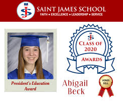 Abigail Beck • Saint James School
