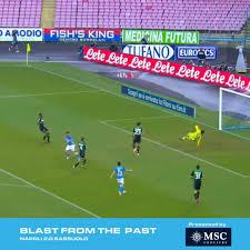 SSC Napoli - 🔙 2018 🆚 #Sassuolo Domani 👉 #NapoliSassuolo ...
