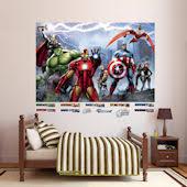 Marvel Avengers Superhero Stickers Decals