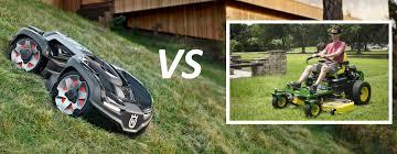 automower vs zero turn mowers bladepro