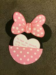 Minnie Mouse Handmade Invitation Invitaciones Manualidades Y
