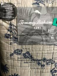 tommy bahama 213797 quilt set king