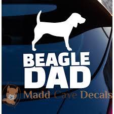 Beagle Dad Decal Vinyl Decal