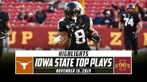 Iowa State Football Highlights vs. No ...
