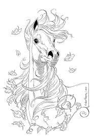 Lena Furberg Kleurplaten Paard Tekeningen Paarden