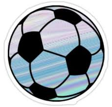Purple Blue Soccer Ball Sticker By Alanarose98 Soccer Ball Hydroflask Stickers Soccer