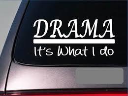 2 99 Drama Sticker Decal 306actor Actress Play Opera Theater Show Movie Tv Script Ebay Home Gard Music Stickers Custom Window Decals Gymnastics Stickers
