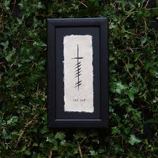 art prints by ogham wishes the cat