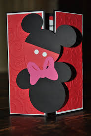 Mickey And Minnie Mouse Invitations Set Of 10 Etsy Tarjetas