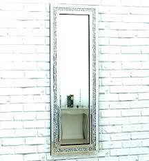 wall mirrors carbon loft mirror large