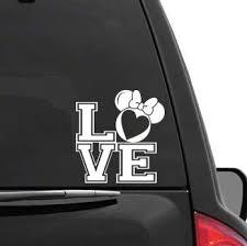 Minnie Mouse Disney Vinyl Decal Sticker Laptop Car Phone