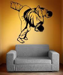 Vinyl Wall Decal Sticker Mma Wrestling Flip Move 5201 Stickerbrand