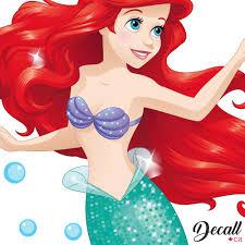 Disney Life Little Mermaid Ariel Disney Car Decal Sticker Choose Color