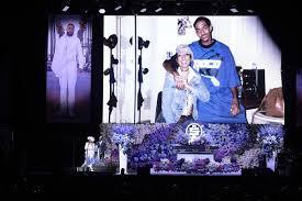Angelique Smith, Dawit Asghedom - Angelique Smith Photos - Nipsey Hussle's  Celebration Of Life - Inside - Zimbio