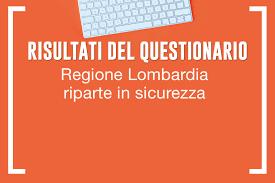 """Regione Lombardia riparte in sicurezza"""": cosa ne pensano i cittadini  lombardi"""