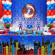 Ideas Para Fiesta De Capitan America Ideas Para Las Fiestas