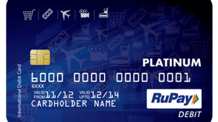 Image result for debit card rupay